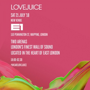 LoveJuice at E1 London