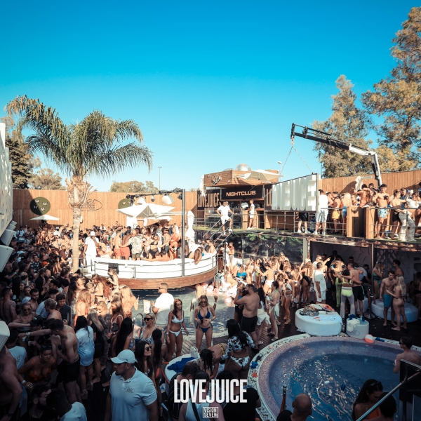 LoveJuice Pool Party at Sisu Hotel Marbella