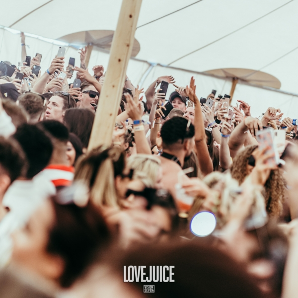 LoveJuice Tent at We Are FSTVL 2019